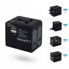 SZFC CN-148 AC Power Plug Travel Universal Charger with Dual USB Ports