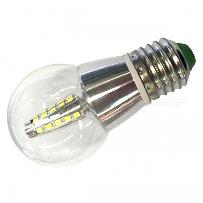 E27 5W 250lm 25-2835 SMD Cold White LED Bulb Lamp for Home Lighting