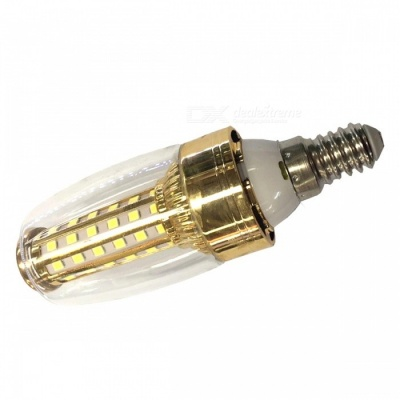 E14 12W 580lm 58-2835 SMD Cold White LED Bulb Lamp for Home Lighting