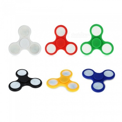 E-SMARTER Colorful Luminous Fidget Stress Relief Spinner Toy (6PCS)