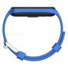 0.69 inch OLED IP67 Smart Bracelet with Heart Rate Monitor - Blue