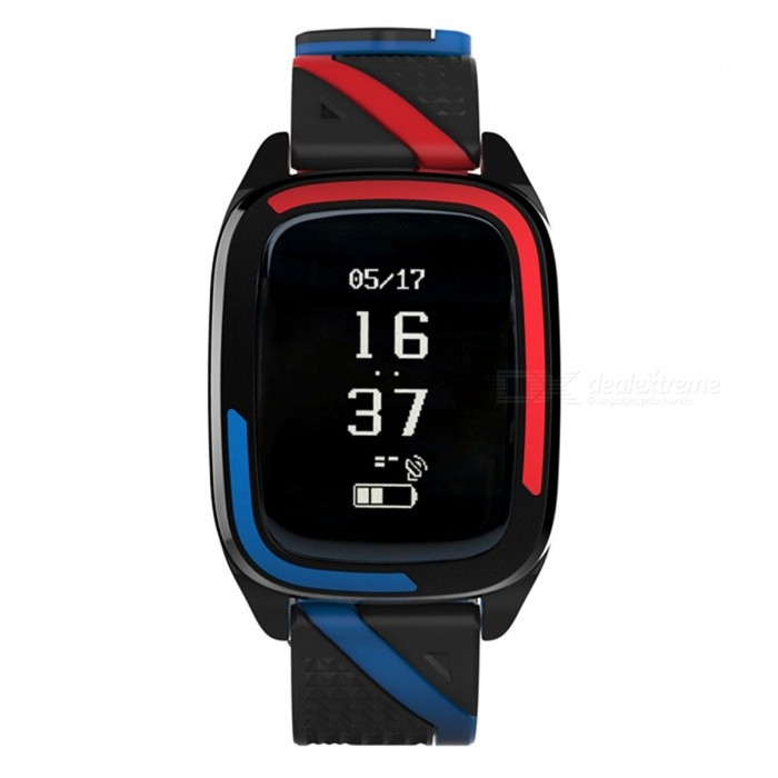 DB05 Smart Bracelet with Heart Rate Blood Pressure Monitor - Blue