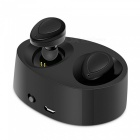 Eastor K2 TWS Bluetooth True Wireless Stereo Earphone with Mic - Black