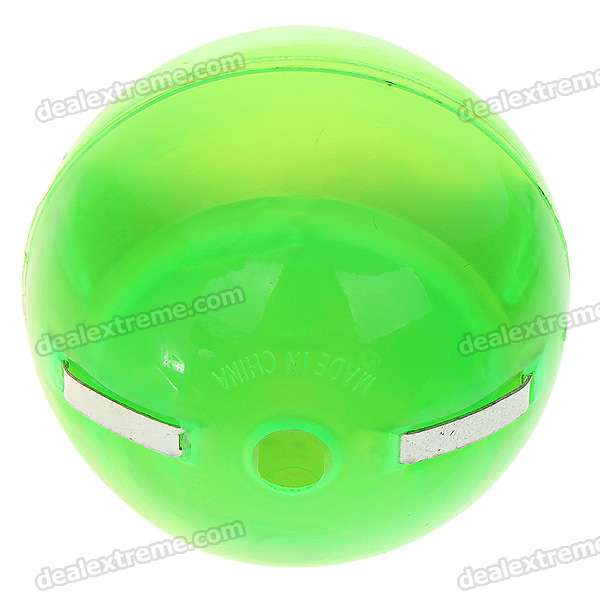 Interesting Magic Flashing & Spooky Sounds Touch Ball - 2 Pieces/Pack (2*AG3)
