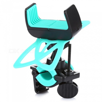 Universal Outdoor Cycling Bike Motorcycle GPS Holder Stand -Water Blue