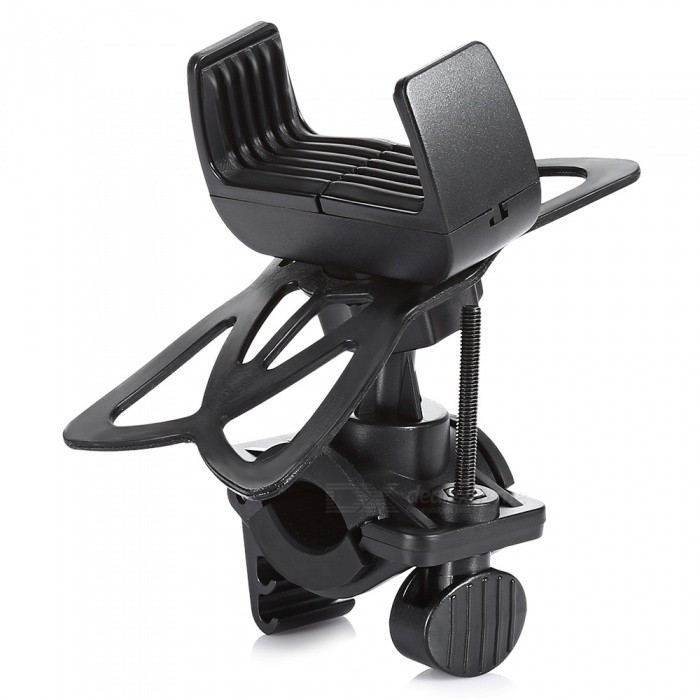 Universal Outdoor Cycling Bike Motorcycle GPS Holder Stand - Black