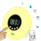 YWXLight Night Light Temperature RGB Color LED Smart Clock Lamp