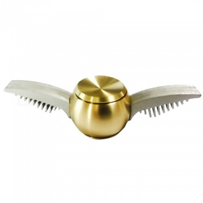 OJADE Harry Potter Quidditch Gold Snitch Shape Fidget Hand Spinner Toy