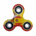Dayspirit Spanish Flag Pattern Finger Toy EDC Hand Spinner