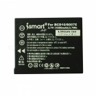 Ismartdigi S007 Battery with Micro USB Mobile Charger for Panasonic