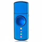 ZHAOYAO LED USB Charging Cigarette Lighter Hand Spinner - Blue
