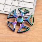 OJADE Rainbow 5-Side Frame Hand Spinner Fingertip Gyro Toy - Colorful