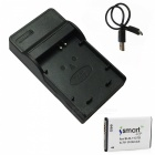 Ismartdigi 1137D Battery with Micro USB Mobile Charger for Samsung