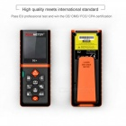 PEAKMETER 80m Handheld  Laser Distance Meter with Removable Clip