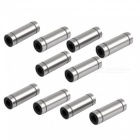 LM-LUU6 Extended Linear Bearings - Silver (10pcs)