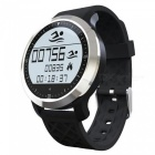F69 Bluetooth Watch IP68 Waterproof Smart Sports Watch - Black