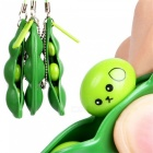 MAIKOU Unlimited Squeeze Soybean Shaped Anti-stress Toy - Green