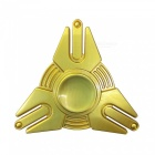 Dayspirit Iron Man Shape Fidget Releasing Hand Spinner - Golden