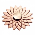ZHAOYAO Lotus Shaped Finger Toy Hand Spinner - Golden