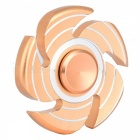 OJADE 5-Blade Spiral with 3-Line Spinner EDC Focus Finger Toy - Golden