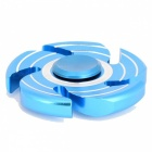 OJADE 5-Blade Spiral with 3-Line Spinner EDC Focus Finger Toy - Blue