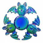 Dayspirit 3-Bat Finger Spinner Toy EDC Hand Spinner - Multicolor