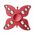 Dayspirit 12-Ball Butterfly Style Stress Relief Spinner Toy - Red