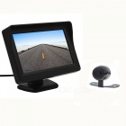 "2.4G Wireless Video Transmitter Receiver Kit w/ Camera + 4.3"" Display"