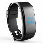 DF30 Waterproof Smart Bracelet with Heart Rate Oxygen Monitor - Black