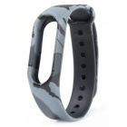 Replacement TPU Wrist Band for Xiaomi MI Band 2 - Camouflage Grey