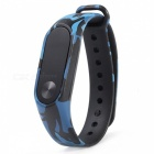 Replacement TPU Wrist Band for Xiaomi MI Band 2 - Camouflage Blue