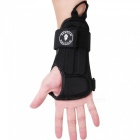 WOSAWE BC330 Skiing Hand Protection Wrist Supports - Black (M)