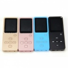 Mini Bluetooth MP3 MP4 Music Player with 8GB Storage - Black