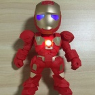 ZHAOYAO Iron Man LED Robot Bluetooth Speaker, Mini Wireless Subwoofer