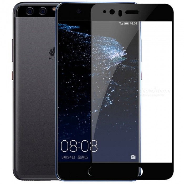 ASLING Tempered Glass Full Cover Film for Huawei P10 Plus - Black