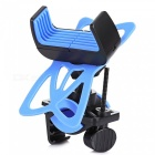 Universal Outdoor Cycling Bike Motorcycle GPS Holder Stand - Blue