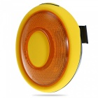 Waterproof Intelligent 3-Mode Brake Light with Transmitter - Yellow