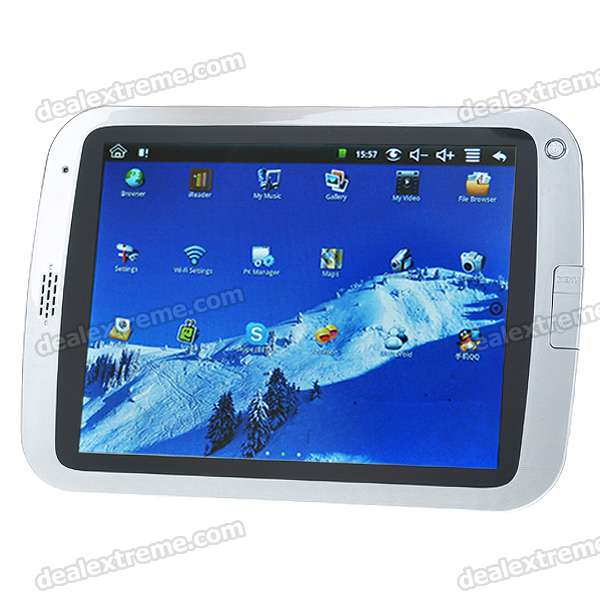 "8 ""сенсорный экран TFT LCD Google Android 1.6 Tablet PC ж / Wi-Fi / Camera (ARM926EJ-S rev5)"