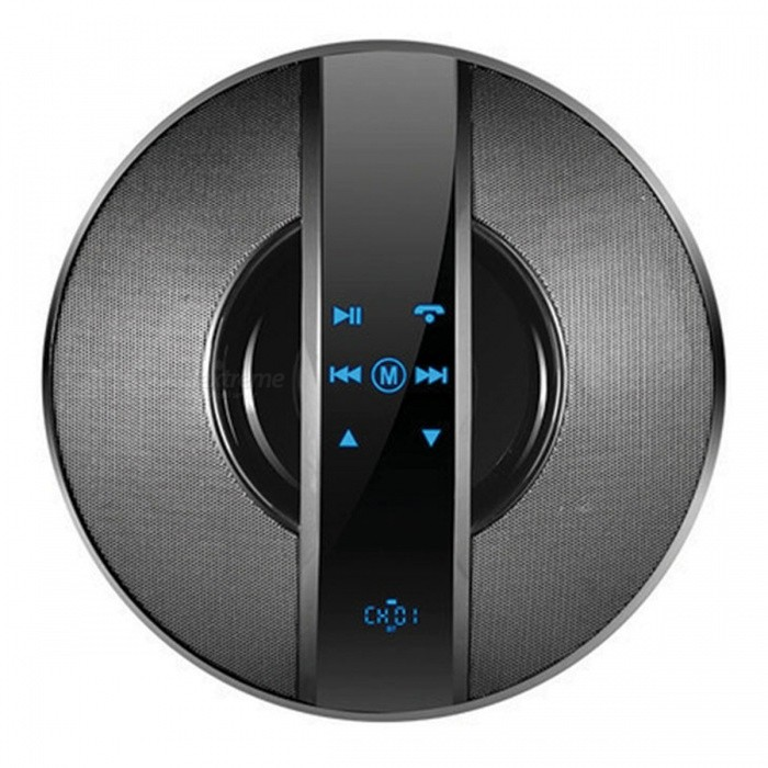 UFO Touch HIFI Bluetooth Stereo Speaker - Black