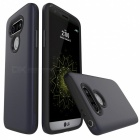 Protective Wire Drawing PC, TPU Back Case for LG G5 - Navy Blue