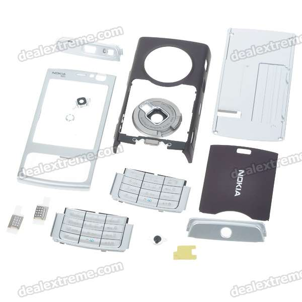 Repair Parts Full Replacement Housing Case with Keyboards for Nokia N95 Cell Phone