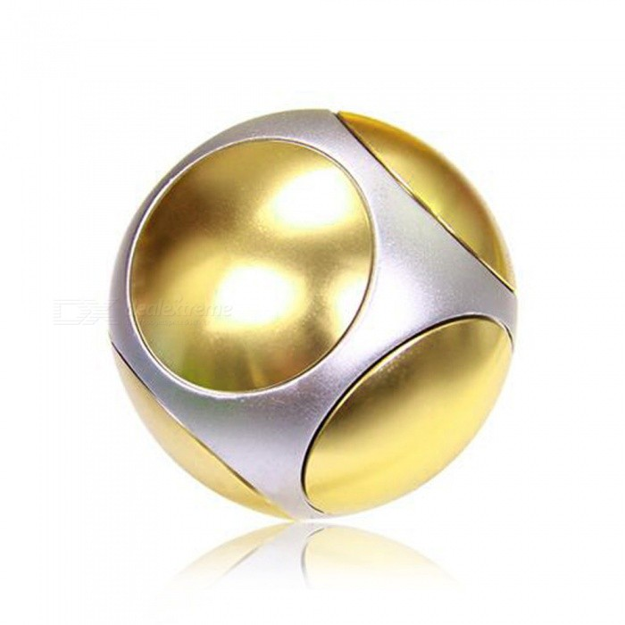 OJADE Football Style Fingertips Polyhedron Handspinner EDC Toy -Golden