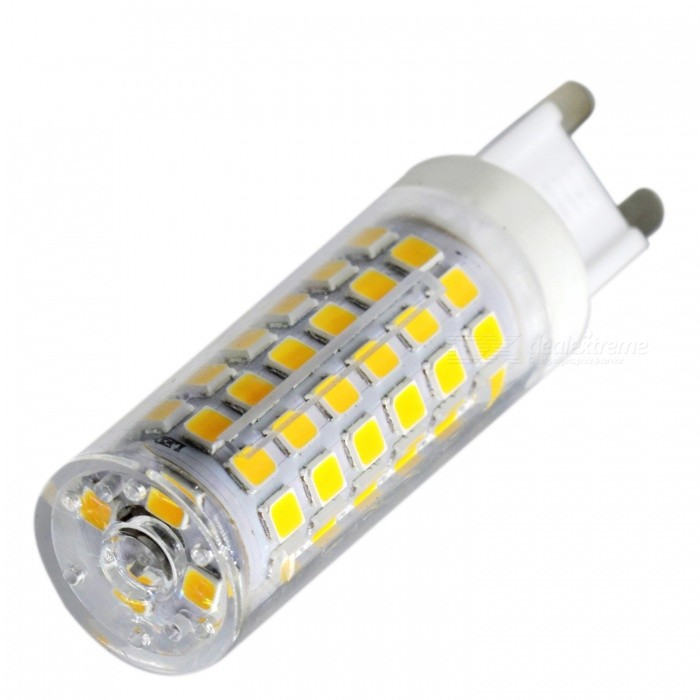 YWXLight G9 9W 76-2835SMD Warm White Dimmable LED Ceramics LampG9<br>Color BIN Warm White, AC 220-240VMaterialCeramicsForm  ColorWhite + Orange + Multi-ColoredQuantity1 DX.PCM.Model.AttributeModel.UnitPower9WRated VoltageAC 220-240 DX.PCM.Model.AttributeModel.UnitConnector TypeG9Emitter TypeOthers,2835 SMD LEDTotal Emitters76Theoretical Lumens900-1000 DX.PCM.Model.AttributeModel.UnitActual Lumens750-850 DX.PCM.Model.AttributeModel.UnitColor Temperature3000KDimmableYesBeam Angle360 DX.PCM.Model.AttributeModel.UnitPacking List1 x YWXLight  LED Ceramics Lamp<br>
