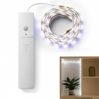 Jiawen 1m Human Body Infrared Induction 60-LED Strip Light Cold White