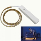 Jiawen 1m Human Body Infrared Induction 60-LED Strip Light Warm White