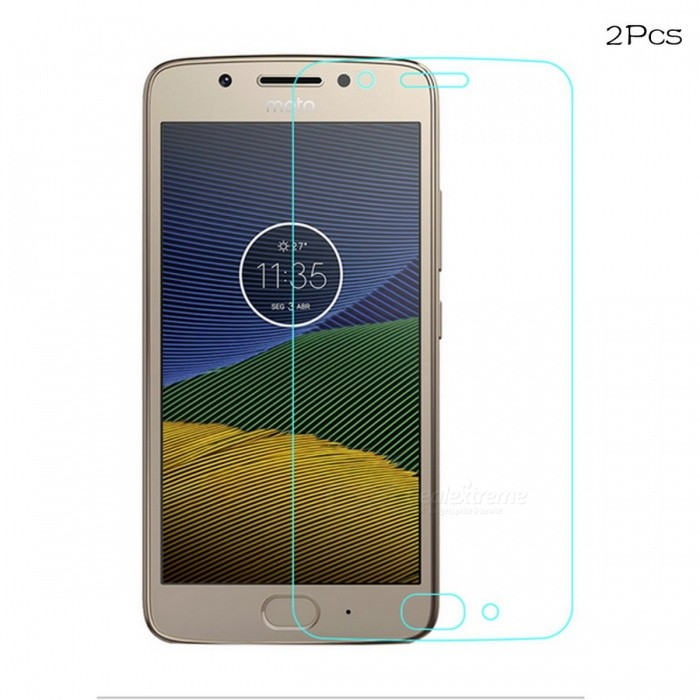 Naxtop Tempered Glass Screen Protectors for Motorola MOTO G5 (2 PCS)Screen Protectors<br>Form  ColorTransparent (Moto G5 2Pcs)Screen TypeGlossyModelN/AMaterialTempered GlassQuantity1 setCompatible ModelsMotorola Moto G5Features2.5D,Fingerprint-proof,Scratch-proof,Tempered glassPacking List2 x Tempered glass films2 x Wet wipes2 x Dry wipes2 x Dust stickers<br>