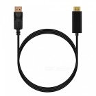 Cwxuan DisplayPort DP to HDMI HD 1080 Converter Cable - Black (1.5m)