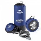 NH Outdoor Shower Bath Bag Non-Solar Water Bag - Blue, Black