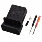 Portable Mobile Phone Playing Stand, Switch Dock Case - Black