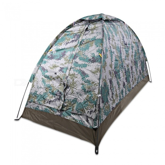 SY001 Single Person Outdoor Camping Tent - Digital Camouflage
